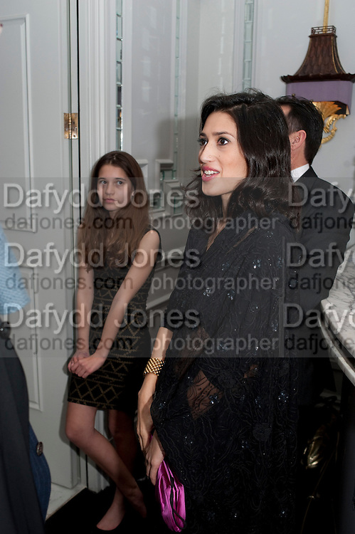 TIGER LILY;; FATIMA BHUTTO, Henry Porter hosts a launch for Songs of Blood and Sword by Fatima Bhutto. The Artesian at the Langham London. Portland Place. 15 April 2010.