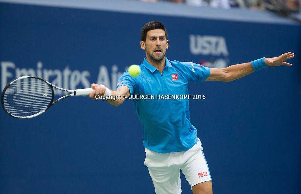 NOVAK DJOKOVIC (SRB)<br /> <br /> Tennis - US Open 2016 - Grand Slam ITF / ATP / WTA -  USTA Billie Jean King National Tennis Center - New York - New York - USA  - 11 September 2016.