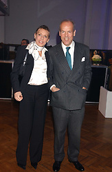MASSIMO & SARA CARELLO at a party to celebrate the centenary of Montblanc held at Lindley Hall, Elverton Street, London SW1 on 9th March 2006.<br />
