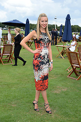 NOELLE RENO at the Boujis hospitality at the Audi International Polo at Guards Polo Windsor Great Park, Egham, Surrey on 28th July 2013.
