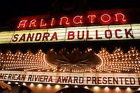 Santa Barbara International Film Festival 2010 Sandra Bullock Modern Master Award 100205