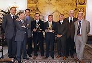 Premio Don Chisciotte 1999<br /> blasetti, ceccotti, tanjevic, petrucci, pagnozzi, rubini