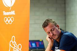 06-09-2018 NED: Press conference Netherlands, Doetinchem<br /> Press conference before the first match against Argentina / Jeroen Rauwerdink #10 of Netherlands