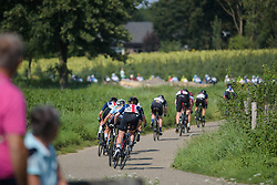 Samantha Schneider chasing through the narrow country roads at Boels Rental Ladies Tour Stage 6 a 159.7 km road race staring and finishing in Sittard, Netherlands on September 3, 2017. (Photo by Sean Robinson/Velofocus)