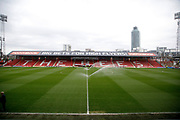 Griffin Park Stadium during the EFL Sky Bet Championship match between Brentford and Ipswich Town at Griffin Park, London, England on 7 April 2018. Picture by Andy Walter.