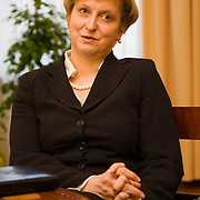 Anna Fotyga chief of Polish President Lech Kaczynski Office , former minister of foreign affairs