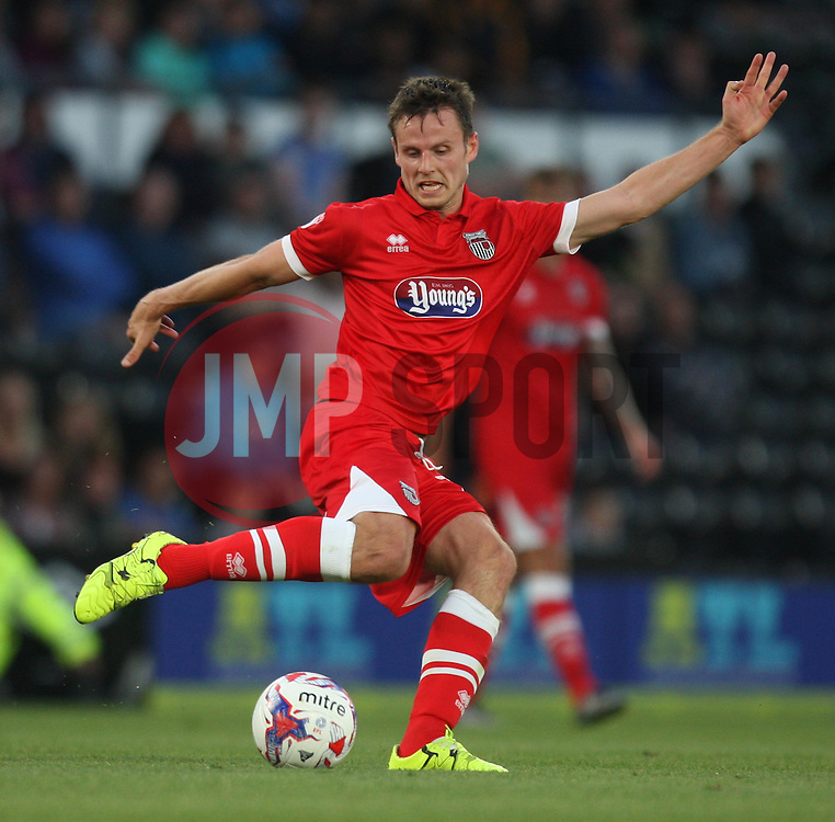 James Berrett of Grimsby Town in action - Mandatory by-line: Jack Phillips/JMP - 09/08/2016 - FOOTBALL - iPro Stadium - Derby, England - Derby County v Grimsby Town - EFL Cup First Round