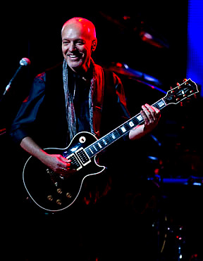 Peter Frampton brought his 30th anniversary celebration to  the EKU Center for the Arts in Richmond, KY on Tuesday October 4, 2011 .  Photo by Mark Cornelison..