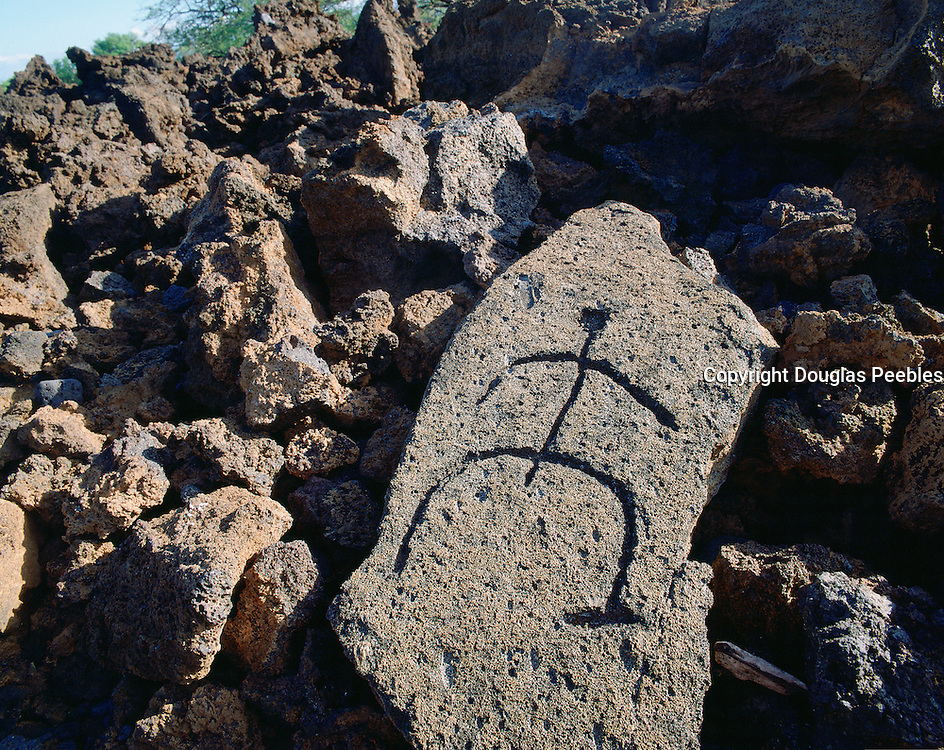 Petroglyphs, Island of Hawaii, Hawaii, USA<br />