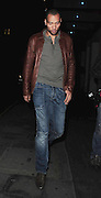 04.JANUARY.2011. LONDON<br /> <br /> ASTON VILLA FOOTBALLER JOHN CAREW LEAVING THE NOBU RESTAURANT ON BERKELEY STREET MAYFAIR.<br /> <br /> BYLINE: EDBIMAGEARCHIVE.COM<br /> <br /> *THIS IMAGE IS STRICTLY FOR UK NEWSPAPERS AND MAGAZINES ONLY*<br /> *FOR WORLD WIDE SALES AND WEB USE PLEASE CONTACT EDBIMAGEARCHIVE - 0208 954 5968*