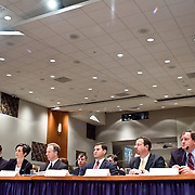 "Panel: ""Outline of the 9/11 Plot."" The 9/11 Commission's 12th public hearing on ""The 9/11 Plot"" and ""National Crisis Management"" was held June 16-17, 2004, in Washington, DC."