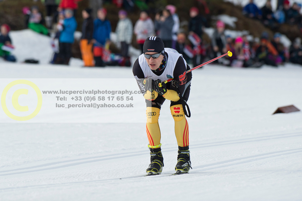 MESSINGER Nico Guide: BURCHARTZ PL, GER, Short Distance Biathlon, 2015 IPC Nordic and Biathlon World Cup Finals, Surnadal, Norway
