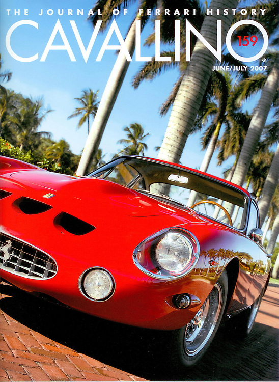 Magazine Cover - Ferarri 250 GT