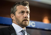 Fulham manager Slavisa Jokanovic during the EFL Sky Bet Championship match between Queens Park Rangers and Fulham at the Loftus Road Stadium, London, England on 29 September 2017. Photo by Sebastian Frej.