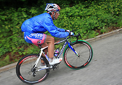 Paolo Bossoni of Italia (Lampre) during 3rd stage of the 15th Tour de Slovenie from Skofja Loka to Krvavec (129,5 km), on June 13,2008, Slovenia. (Photo by Vid Ponikvar / Sportal Images)/ Sportida)