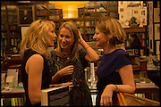 VICKY WARD; LENA; FRANCES OSBORNE  Book party for 'The Liar's Ball' by Vicky Ward hosted by  Sir Evelyn  de Rothschild at Henry Sotheran's, 2 Sackville Street London. 25 November 2014