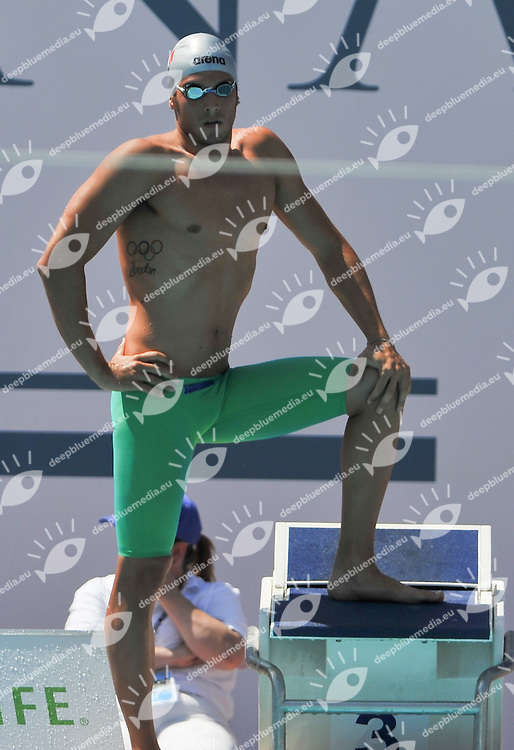 DI GIORGIO Alex, Italy - Aniene<br /> 200 freestyle Men<br /> 50 Settecolli Trofeo Internazionale di nuoto 2013<br /> swimming<br /> Roma, Foro Italico  12 - 15/06/2013<br /> Day02 batterie heats<br /> Photo Andrea Masini/Deepbluemedia/Insidefoto