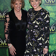 London, England, UK. 10th January 2018. Esther Rantzen and her daughter arrives at Cirque du Soleil OVO - UK premiere at Royal Albert Hall.