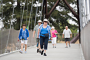 The Happy Hollow Foundation host their Senior Safari event at Happy Hollow Park & Zoo in San Jose, California, on August 22, 2019. (Stan Olszewski/SOSKIphoto)
