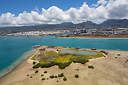 Sand Island, Oahu,, Hawaii