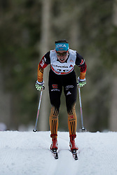 13.12.2014, Davos, SUI, FIS Langlauf Weltcup, Davos, 10 km, Frauen, im Bild Stefanie Boehler (GER) // during Cross Country, 10km, ladies at FIS Nordic world cup in Davos, Switzerland on 2014/12/13. EXPA Pictures &copy; 2014, PhotoCredit: EXPA/ Freshfocus/ Christian Pfander<br /> <br /> *****ATTENTION - for AUT, SLO, CRO, SRB, BIH, MAZ only*****