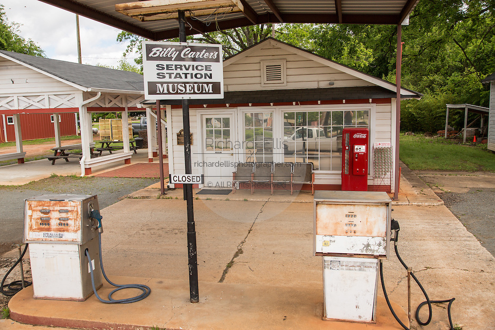 Billy Carter gas station museum May 6, 2013 in Plains, Georgia.