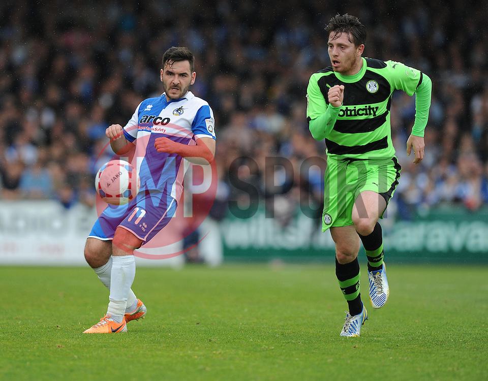 Bristol Rovers' Jake Gosling - Photo mandatory by-line: Alex James/JMP - Mobile: 07966 386802 - 03/05/2015 - SPORT - Football - Bristol - Memorial Stadium - Bristol Rovers v Forest Green Rovers - Vanarama Football Conference