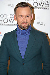 © Licensed to London News Pictures.  07/12/2012. BIRMINGHAM, UK. TV presenter Brendan Courtney (pictured) is seen during the opening photo call for the Clothes Show Live event being held in the NEC, Birmingham. The show opens today and runs until Tuesday. Photo credit :  Cliff Hide/LNP