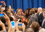 First Lady Michelle Obama campaigning for Hillary Clinton in Phoenix, AZ. on October 20, 2016. October 20, 2016. Michelle Obama visits Downtown Phoenix to rally for Hillary Clinton at the Convention Center.
