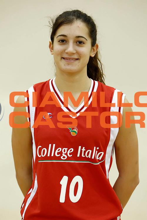 DESCRIZIONE : Roma Acqua Acetosa College Italia Lega A2 Donne<br /> GIOCATORE : Francesca Melchiori<br /> SQUADRA : College Italia<br /> EVENTO : Lega Basket Femminile A2 stagione 2010-2011<br /> GARA : <br /> DATA : 01/11/2010 <br /> CATEGORIA : ritratto<br /> SPORT : Pallacanestro <br /> AUTORE : Agenzia Ciamillo-Castoria/ElioCastoria<br /> Galleria : Fip Nazionali 2010 <br /> Fotonotizia : Roma Acqua Acetosa College Italia Lega A2 Donne<br /> Predefinita :