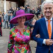 NLD/Den Haag/20190917 - Prinsjesdag 2019, Geert Wilders en parijgenoot Fleur Agema