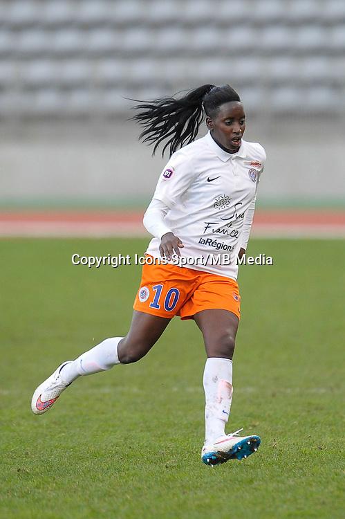 Marina Makanza  - 20.12.2014 - PSG / Montpellier - 14eme journee de D1<br /> Photo : Andre Ferreira / Icon Sport
