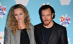 Anna-Louise Plowman and Toby Stephens  attend Dora and Friends TV Premiere at Empire Leiceter Sq, London on Sunday 2.11.2014