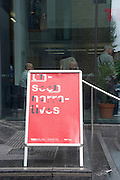 UnSeen Narratives, Ted Salon, Unicorn Theatre, Tooley St. London. 10 May 2012.