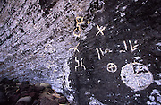 Petroglyphs, Pitcairn Island<br />