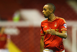 Dexter Blackstock of Nottingham Forest - Mandatory byline: Jack Phillips / JMP - 07966386802 - 11/08/15 - FOOTBALL - The City Ground - Nottingham, Nottinghamshire - Nottingham Forest v Walsall - Football League Cup Round 1