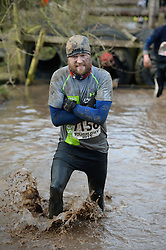 © Licensed to London News Pictures. 01/02/2015. Competitors take part in the Tough Guy endurance event 2015, Wolverhampton, England on 1st February 2015. Photo credit : Mike King/LNP