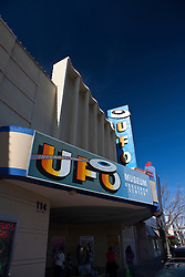 Exterior of International UFO Museum and Research Center, Roswell, New Mexico, United States of America
