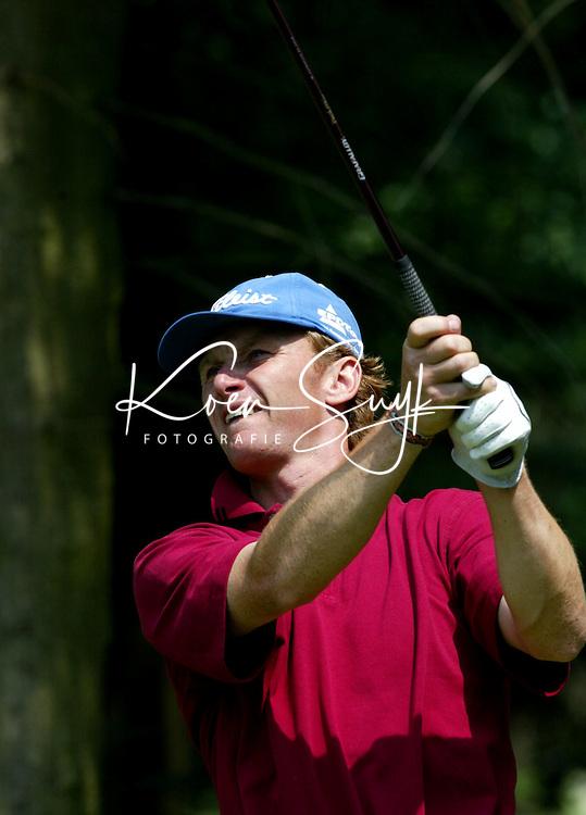 LEUSDEN -  Ruben Wechelaer.   Stern Open 2003 op de Hoge Kleij. COPYRIGHT KOEN SUYK