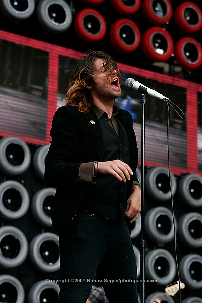 Taking Back Sunday with performing at Giant's Stadium during Live Earth on July 7,  2007. .