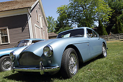 2018 Champagne British Car Festival held on Clover Lawn at David Davis Mansion in Bloomington IL<br /> <br /> 1957 Aston Martin DB MKIII