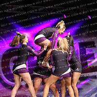 2016_Loughborough Students Cheerleading  Open Level 2 Stunt Group