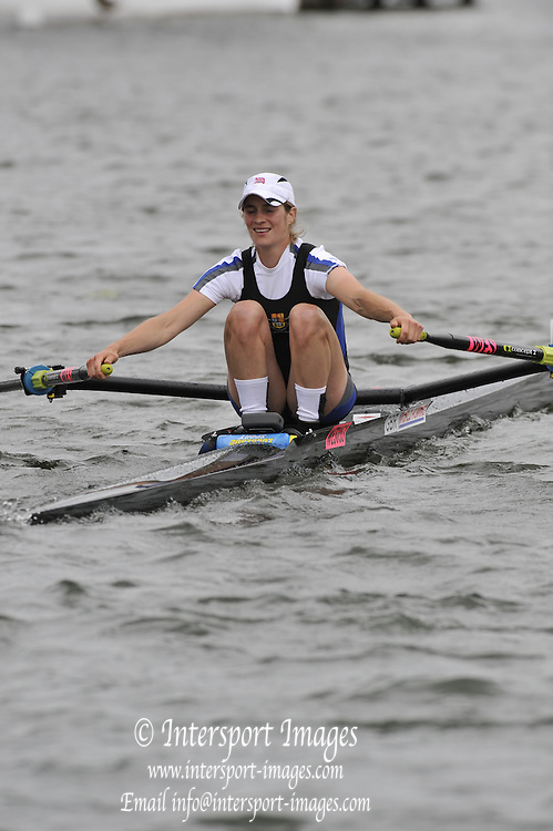 Henley, GREAT BRITAIN, Princess  Royal Challenge Cup, Mathilde PAUL, Imperial College. 2008 Henley Royal Regatta  on Saturday, 05/07/2008,  Henley on Thames. ENGLAND. [Mandatory Credit:  Peter SPURRIER / Intersport Images] Rowing Courses, Henley Reach, Henley, ENGLAND . HRR