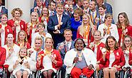 Koning ontvangt paralympische medaillewinnaars