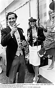 Louis Basualdo and Princess Catherine Oxenberg  at  The Derby. Epsom. 5 June 1885. film85377f5<br />