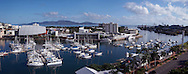Townsville cityscape and Magnetic Island.Queensland Australia  February 2005