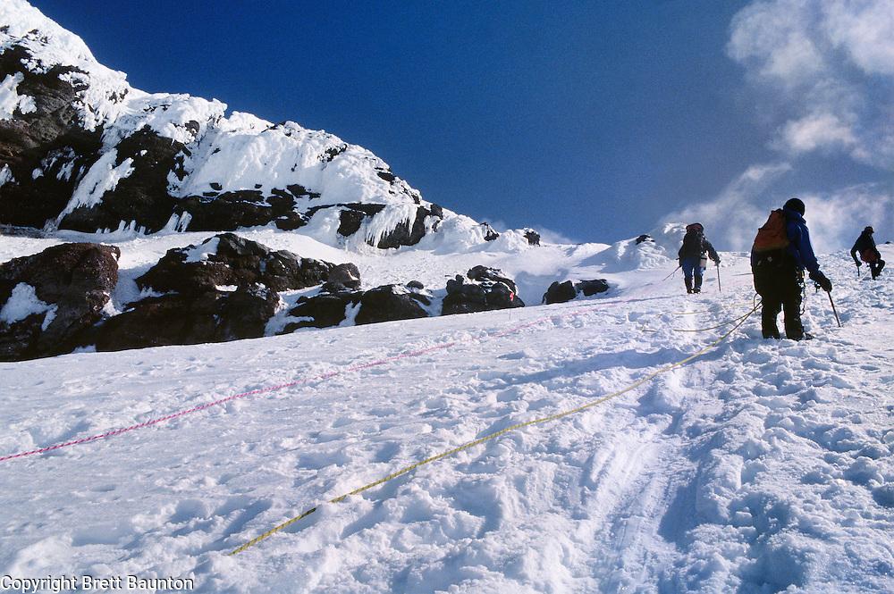 Mt. Baker; Coleman Glacier; Summit; Glacier Climbing; Washington State