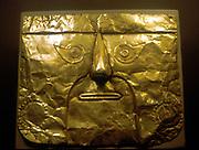 Chimu Mask (gold) Peru 1100-1500 AD