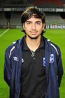Samed KILIC - 31.10.2014 - Auxerre / Brest - 13eme journee Ligue 2<br />