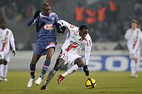 FOOTBALL - FRENCH CHAMPIONSHIP 2010/2011 - L1 - GIRONDINS BORDEAUX v OGC NICE - 30/01/2011 - PHOTO JULIEN CROSNIER / DPPI - MAMADOU BAGAYOKO (NIC)